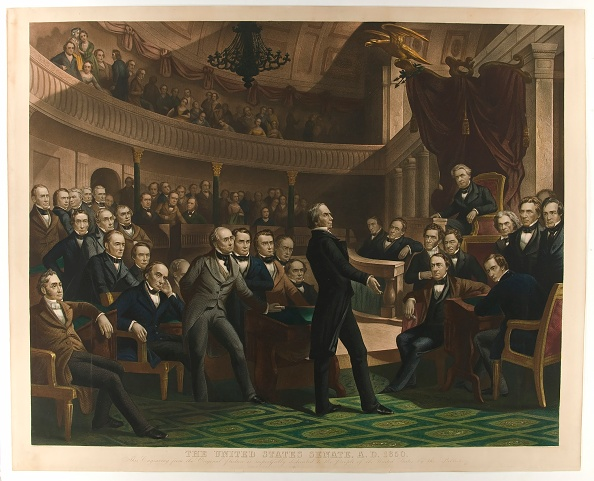 1850-1859「The United States Senate」:写真・画像(11)[壁紙.com]