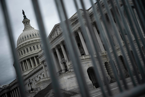 Barricade「Capitol Hill Quiet In Face Of Talks Of New Stimulus Package」:写真・画像(10)[壁紙.com]