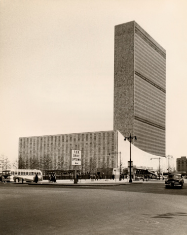 United Nations Building「The United Nations, New York City」:スマホ壁紙(14)