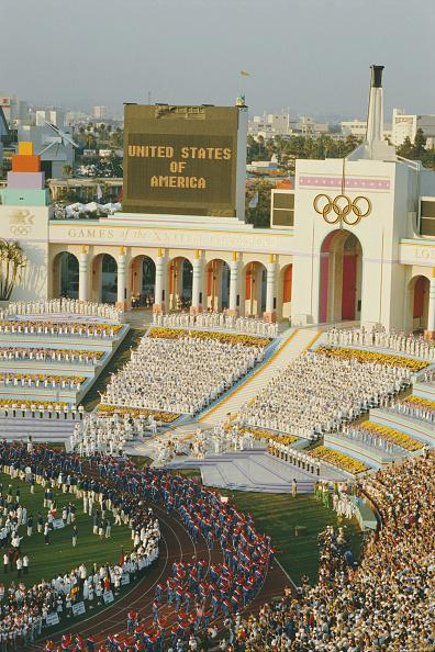 Olympic Torch「XXIII Olympic Summer Games」:写真・画像(19)[壁紙.com]