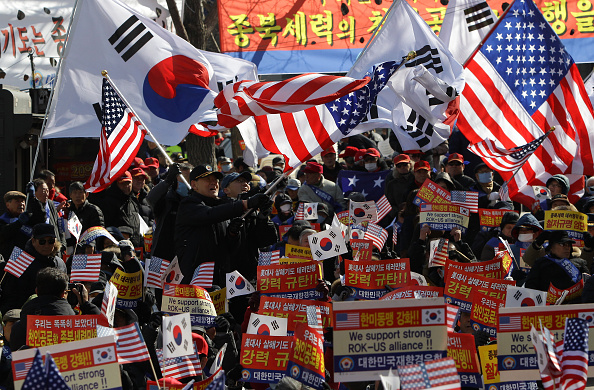 The Knife「S. Korean Conservatives Rally To Denounce The Attack On U.S. Ambassador」:写真・画像(5)[壁紙.com]