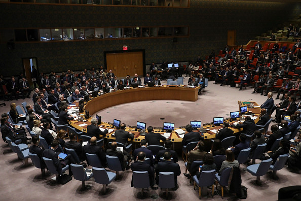 United Nations「UN Security Council Holds Emergency Meeting After Syrian Chemical Weapons Attack」:写真・画像(6)[壁紙.com]