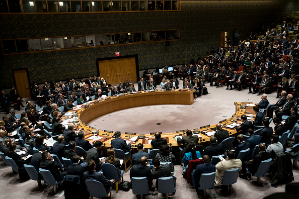 United Nations Building「Palestinian President Abbas Attends UN Security Council Meeting」:写真・画像(13)[壁紙.com]