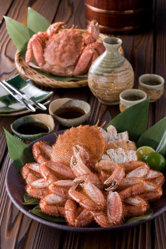 Sake「Boiled Horsehair Crab」:スマホ壁紙(15)
