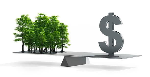 Balance between money and the environment:スマホ壁紙(壁紙.com)