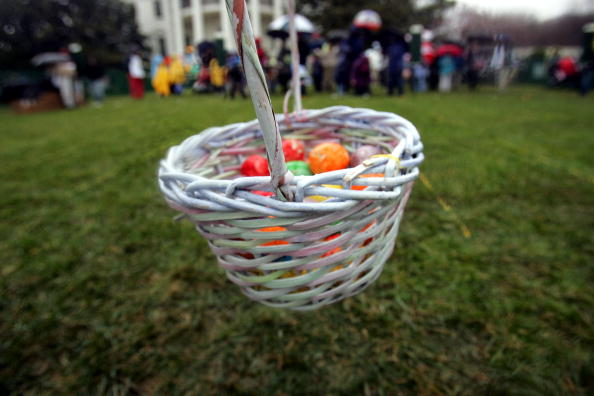 Easter Basket「Children Participate In The Annual White House Easter Egg Roll」:写真・画像(12)[壁紙.com]