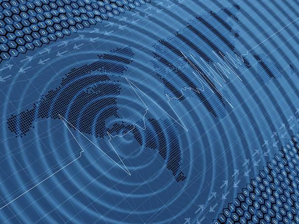 Earthquake wave seismic activity:スマホ壁紙(壁紙.com)
