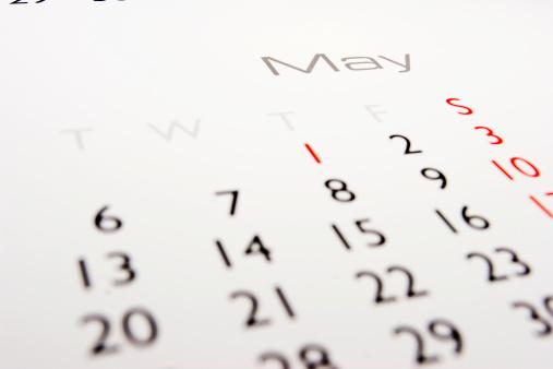 月「カレンダー:5 月」:スマホ壁紙(9)