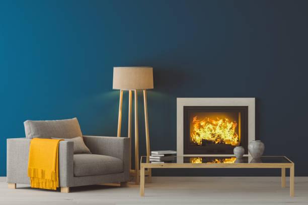 Winter Modern Living Room:スマホ壁紙(壁紙.com)