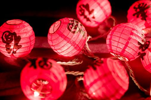 Chinese Lantern「Chinese paper lanterns」:スマホ壁紙(17)