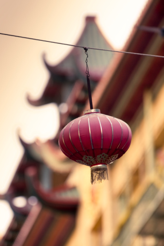 Chinese Lantern「Chinese paper lantern」:スマホ壁紙(7)