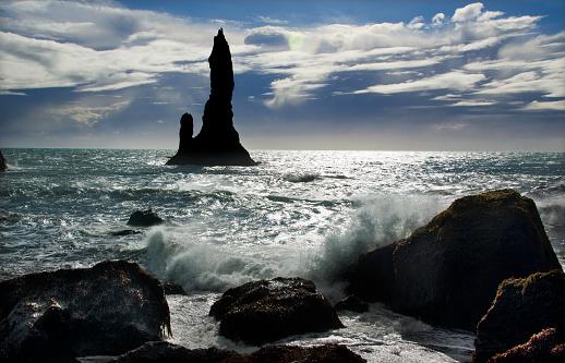 Basalt「Dyrholaey Coast」:スマホ壁紙(19)