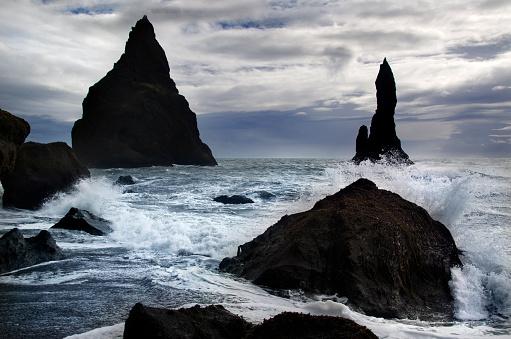 Basalt「Dyrholaey Coast」:スマホ壁紙(16)