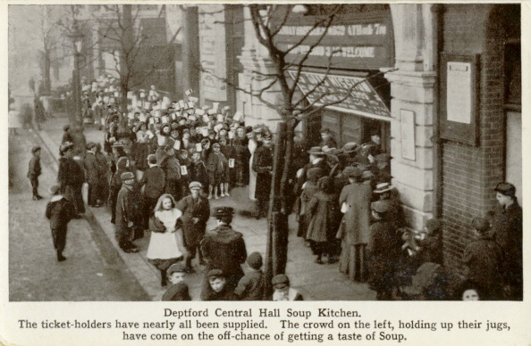 Methodist「Deptford Central Hall Soup Kitchen, 1900s」:写真・画像(5)[壁紙.com]