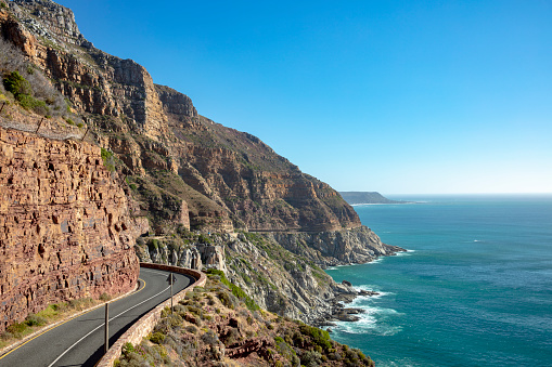 South Africa「Chapman's Peak Drive - one of the most spectacular drives in South Africa, Cape Peninsula, South Africa, November 22, 2018」:スマホ壁紙(5)