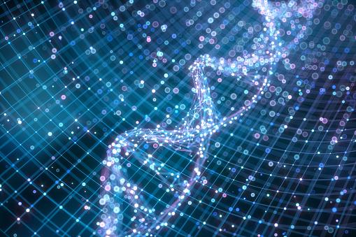 Quantum Computing「Graphical representation of DNA chain」:スマホ壁紙(0)