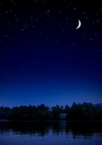 Moon「Starry Night II」:スマホ壁紙(15)