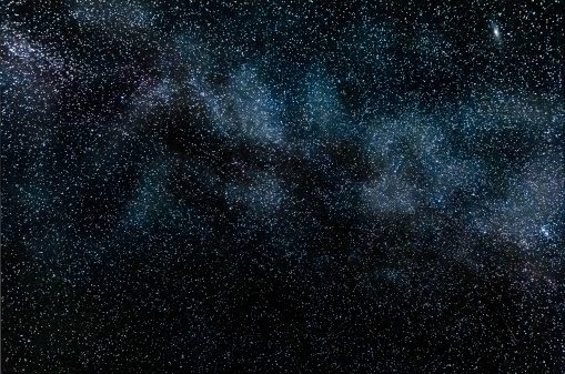星空「Starry night with the Milky Way Galaxy」:スマホ壁紙(1)