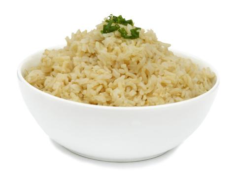 Basmati Rice「Cooked organic, brown basmati rice ready to eat.」:スマホ壁紙(15)