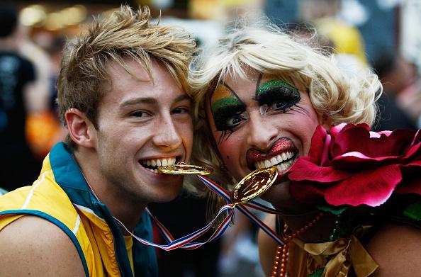 Sport「Sydney Stages Annual Gay & Lesbian Mardi Gras Parade」:写真・画像(17)[壁紙.com]