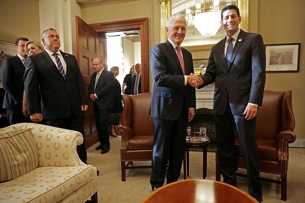 Free Trade Agreement「House Speaker Paul Ryan Meets With Australian Prime Minister Malcolm Turnbull」:写真・画像(7)[壁紙.com]
