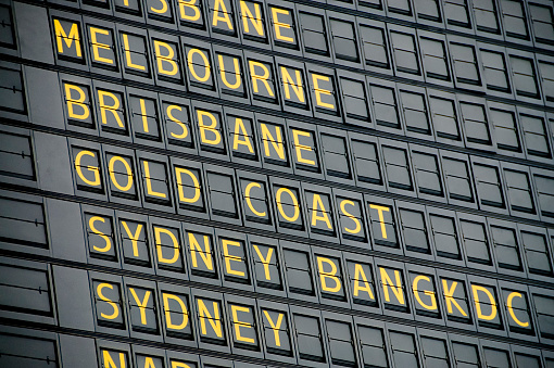Queensland「Australian Departure Board」:スマホ壁紙(6)