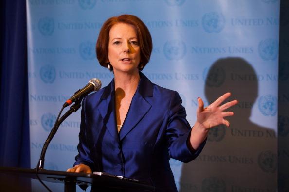 Julia Gillard「UN General Assembly Convenes In New York」:写真・画像(2)[壁紙.com]