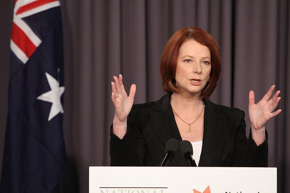 Julia Gillard「Prime Minister Julia Gillard Addresses The National Press Club」:写真・画像(7)[壁紙.com]