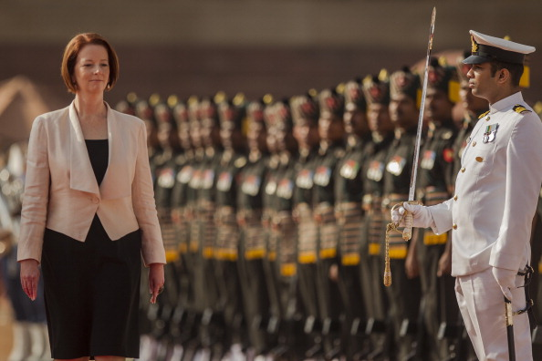 Delhi「Prime Minister Julia Gillard Visits India - Day 3」:写真・画像(0)[壁紙.com]