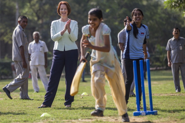 Delhi「Prime Minister Julia Gillard Visits India - Day 2」:写真・画像(7)[壁紙.com]