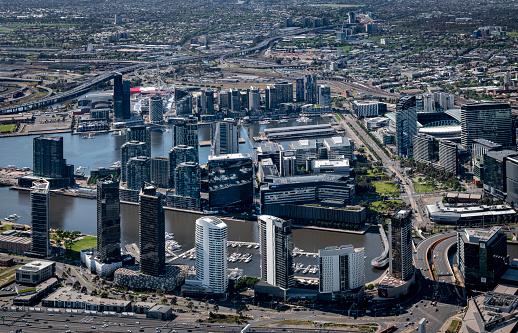 Melbourne Docklands「Australian aerial views」:スマホ壁紙(4)