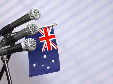 Party Conference「Australian press room」:スマホ壁紙(19)