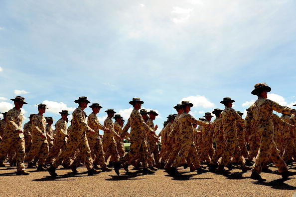 Australian Culture「Welcome Home Parade Held For Townsville Troops」:写真・画像(1)[壁紙.com]