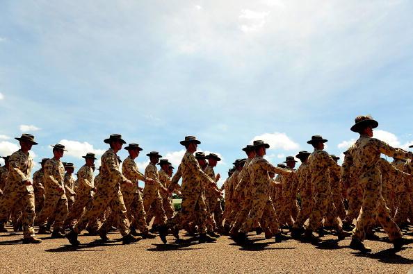 オーストラリア「Welcome Home Parade Held For Townsville Troops」:写真・画像(16)[壁紙.com]