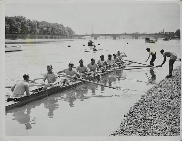ヘンリーロイヤルレガッタ「Australian Oarsmen On The River At Putney」:写真・画像(7)[壁紙.com]