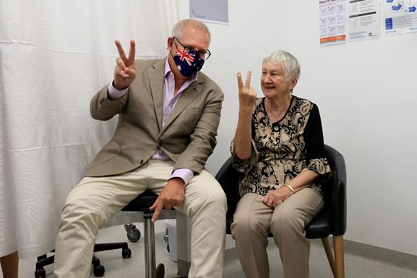 Best shot「Australian Prime Minister Scott Morrison Receives Pfizer Covid-19 Vaccination」:写真・画像(19)[壁紙.com]