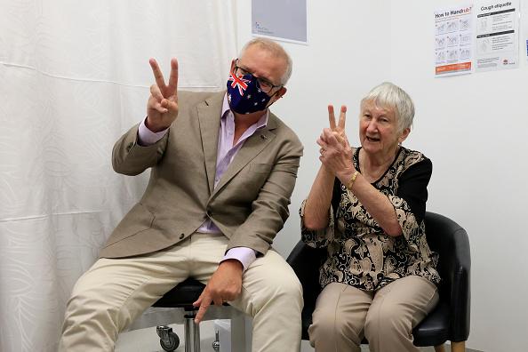 Best shot「Australian Prime Minister Scott Morrison Receives Pfizer Covid-19 Vaccination」:写真・画像(18)[壁紙.com]