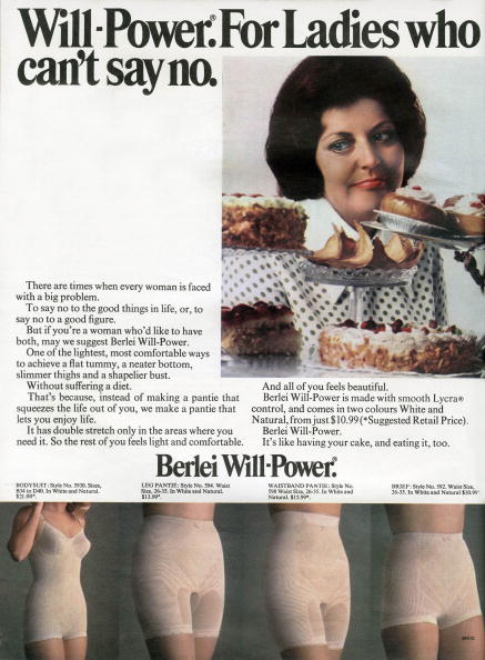 Archival「Australian advertisement for Berlei Will-Power girdle for ladies who can't say no, 1973」:写真・画像(16)[壁紙.com]
