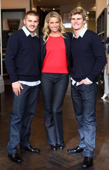 Kristy Hinze「Wallabies Berrick Barnes And Drew Mitchell Meet Model Kristy Hinze」:写真・画像(3)[壁紙.com]