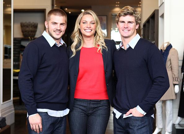 Kristy Hinze「Wallabies Berrick Barnes And Drew Mitchell Meet Model Kristy Hinze」:写真・画像(1)[壁紙.com]