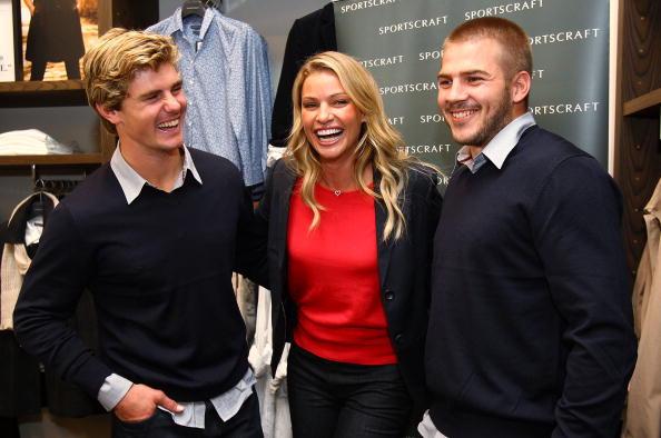 Kristy Hinze「Wallabies Berrick Barnes And Drew Mitchell Meet Model Kristy Hinze」:写真・画像(16)[壁紙.com]