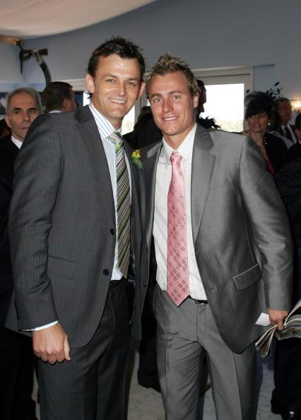 Adam Gilchrist「Celebrities At Emirates Melbourne Cup Day」:写真・画像(15)[壁紙.com]