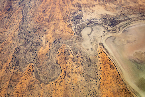 Outback「Australian Outback Aerial Photography over Lake Eyre」:スマホ壁紙(12)