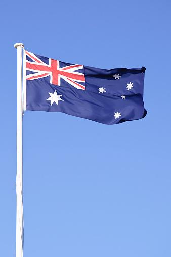 Flag「Australian Flag - Vertical」:スマホ壁紙(19)