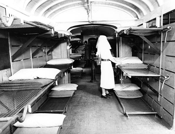 Railroad Car「Hospital Train」:写真・画像(6)[壁紙.com]