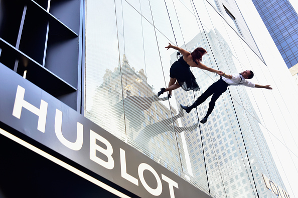 Rappelling「Hublot Celebrates Grand Opening Of Fifth Avenue Boutique In NYC」:写真・画像(16)[壁紙.com]
