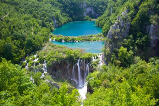 UNESCO World Heritage Site「Kaluderovac Lake and falls, Plitvice NP, Croatia」:スマホ壁紙(18)