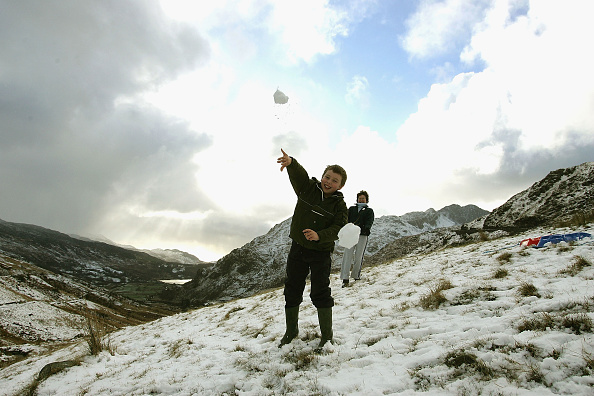 屋外「First Snow Of Winter Hits Parts Of UK」:写真・画像(15)[壁紙.com]