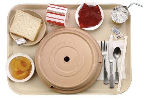Image processing filter「Tray of hospital food」:スマホ壁紙(1)