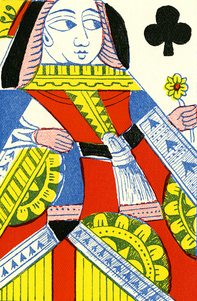 18th Century Style「Queen of Clubs」:写真・画像(12)[壁紙.com]